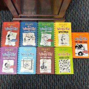 Diary of a Wimpy Kid  | Books 1-9 | pre loved